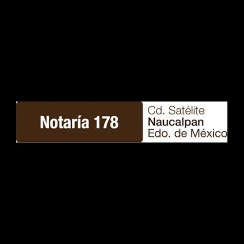 Más acerca de NOTARIA 178
